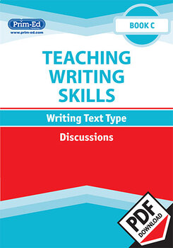 TEACHING WRITING SKILLS: DISCUSSIONS: BOOK C EBOOK UNIT (Y3/P4)