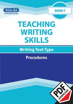 TEACHING WRITING SKILLS PROCEDURES: BOOK F EBOOK UNIT (Y6/P7)