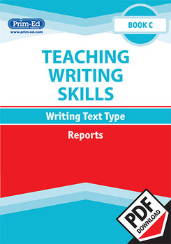 TEACHING WRITING SKILLS: REPORTS: BOOK C EBOOK UNIT (Y3/P4)