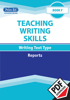 TEACHING WRITING SKILLS REPORTS: BOOK F EBOOK UNIT (Y6/P7)