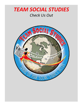 """TEAM SOCIAL STUDIES """"Check Us Out"""""""