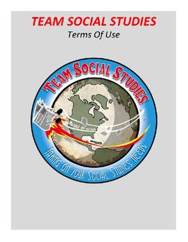 "TEAM SOCIAL STUDIES ""Terms Of Use"""