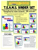T.E.A.M.S. School-to-Home Communication Binder Set