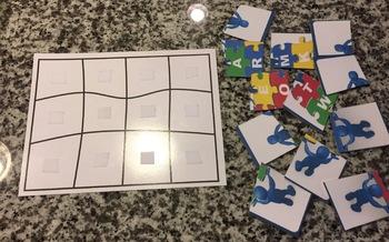 TEAMWORK Jigsaw Puzzle Class Reward Tracker