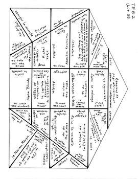 TEB T'es branché? 2 Vocab Puzzles Unit 3