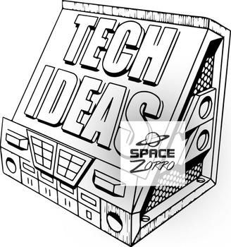 TECH IDEAS image (b&w)