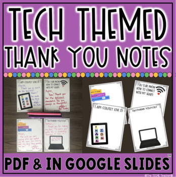 TECH THEMED THANK YOU NOTES