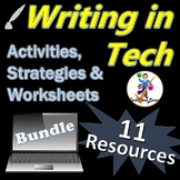 TECH Writing Activities, Strategies & Worksheets Bundle