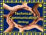 "TECHNICAL COMMUNICATION (Writing) PPT ""Preparing Students"