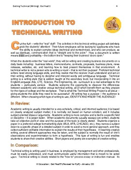 """TECHNICAL WRITING PROJECT (PART 1) """"Information & Implementation ESSENTIALS"""""""