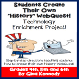 United States History Project, Social Studies WebQuest
