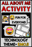 TECHNOLOGY ALL ABOUT ME EMOJI THEME (BACK TO SCHOOL EMOJI