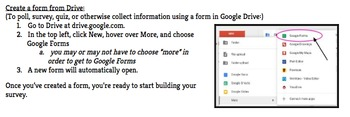 TECHNOLOGY TUTORIALS ~ How to Create a Google Forms Survey (Google Apps for Ed)