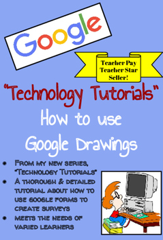 TECHNOLOGY TUTORIALS ~ How to Use Google Drawings (Google Apps for Education)
