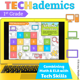 TECHademics - Spring 1st Grade Math & ELA