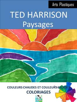 TED HARRISON - PAYSAGES, coloriages et théorie des couleurs