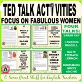 TED TALK ACTIVITIES FOR FOUR ENGAGING AND RELEVANT SPEECHES