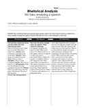 TED TALKS--Rhetorical Analysis