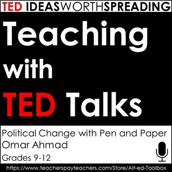 TED Talk Assignment (Political Change with Pen and Paper)