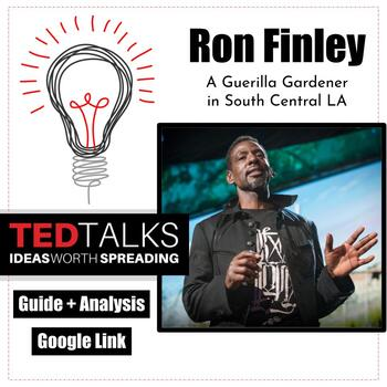 """TED Talk Discussion Questions, """"Guerrilla Gardner"""" Ron Finley, Community Service"""