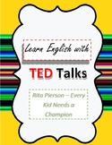TED Talk Lesson Plan Every kid Needs a Champion