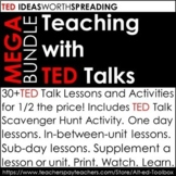 TED Talk MEGA Bundle (30+TED Lessons and Activities!)