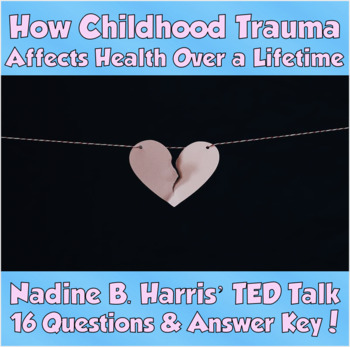Lifetime health teaching resources teachers pay teachers ted talk how childhood trauma affects health over a lifetime nadine b harris fandeluxe Image collections