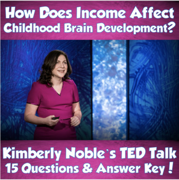 TED Talk- How Does Income Affect Childhood Brain Development (Kimberly Noble)