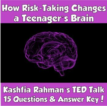 TED Talk- How Risk-Taking Changes a Teenager's Brain (Kashfia Rahman)