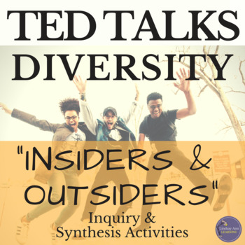 TED Talk Inquiry, Listening, Synthesis Activity focused on Diversity in Society