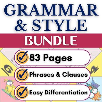 Grammar & Sentence Variety Writing Activities for High School Students