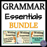 ELA Grammar & Sentence Structure Activities Bundle
