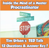 TED Talk- Inside the Mind of a Master Procrastinator (Tim Urban)