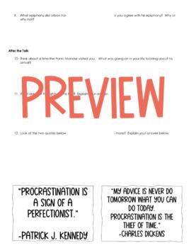 tim urban procrastination