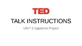 TED Talk Instructions PowerPoint