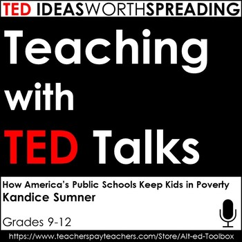 TED Talk Lesson (How America's Public Schools Keep Kids in