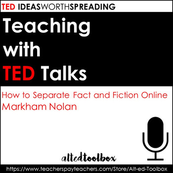 TED Talk Lesson (How to Separate Fact from Fiction Online)