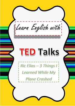TED Talk Lesson Plan 3 Things I Learned While My Plane Crashed