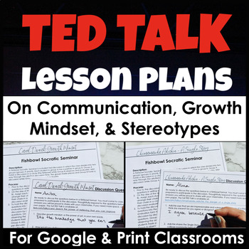 TED Talk Lesson Plans for Powerful Discussions