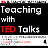 TED Talk Lesson -To This Day:for the bullied and beautiful w Google Drive Option