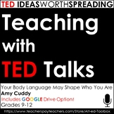 TED Talk Lesson (Your Body Language May Shape Who You Are) w Google Drive Option
