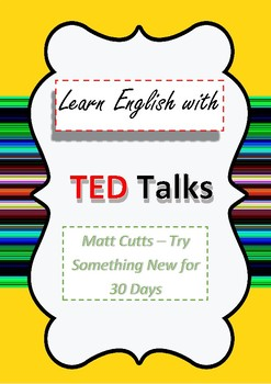 TED Talk Lesson Plan 30 Day Challenge