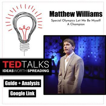 TED Talk: Special Olympics, Matthew Williams