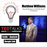 TED Talk: Special Olympics, Matthew Williams