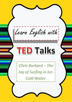 TED Talk Lesson Plan The Joy of Surfing in Ice-Cold Water