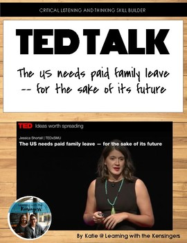 TED Talk: The US needs paid family leave -- for the sake of its future
