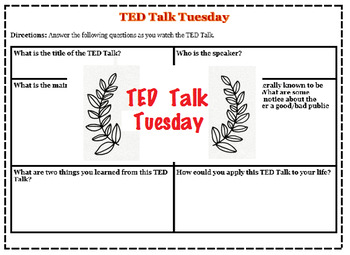TED Talk Tuesday