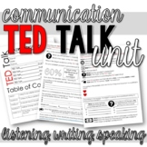TED Talk Unit - 6 Talks about Communication (Listening, Writing, Speaking)