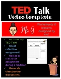 TED Talk Video Template/Note Sheet