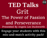 TED Talk Worksheet and Activity Pack - 02 - Angela Lee Duckworth - Grit
